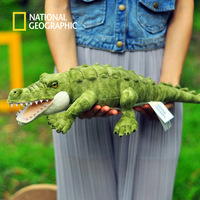 National Geographic 52cm crocodile stuffed toy new 100% cotton doll