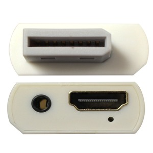 Image 2 - Wiistar Wii zu HDMI Wii2HDMI Adapter Konverter Volle HD 1080 P Ausgang Upscaling 3,5mm Audio Video Ausgang Weiß Heißer verkauf