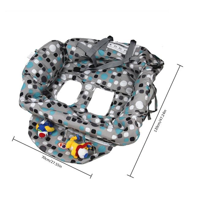 Многофункциональный складной чехол для детской тележки, защитный чехол для детской тележки, защитные сиденья для детей - Цвет: J