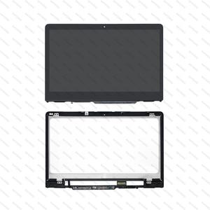 Image 2 - B140XTN02。 E N140HCE EBA 14 IPS LED 液晶タッチスクリーンデジタイザ国会 + フレーム Hp パビリオン X360 14 ba シリーズ