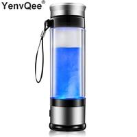 350ML SPE PEM Hydrogen Health Water Cup Generator Alkaline Water Ionizer Machine Water filter Drink Hydrogen Portable Water Cup