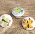 4PCS Butterflies and Fish Knobs Handles  Children  Room Drawer Handle