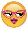 Flirty Girl Emoji Pop Socket