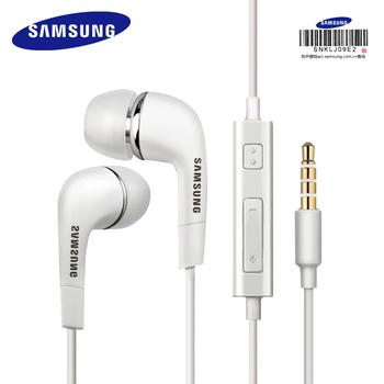 SAMSUNG-słuchawki przewodowe 3 5 mm EHS64 douszna z mikrofonem Galaxy S8 S8 Edge wsparcie oficjalna certyfikacja tanie i dobre opinie Ucho Przewodowy 3 5mm Brak Wyważone Armatura Wspólna Słuchawkowe Typ linii 96±3dB 20-20000Hz 1 2 m 32Ω