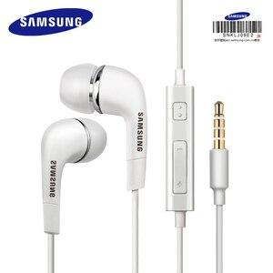Image 1 - Samsung Originele Oortelefoon EHS64 Wired 3.5Mm In Ear Met Microfoon Voor Samsung Galaxy S8 S8Edge Ondersteuning Officiële Certificering