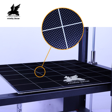 Flyingbear tornado 2 pro grande impressora 3d diy trilho linear de metal completo kit impressora 3d com tela toque