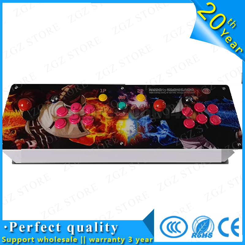 The flame classic 645 games Double game console/ Pandora's Box 4 arcade board machine/ joystick game controller/ VGA out put