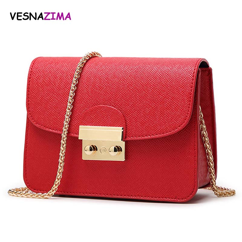 Women crossbody bags for female shoulder messenger bags candy color pu leather chain handbag mini shopping tote bag mujer WM404Z