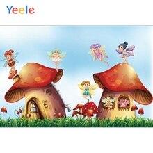 Yeele Wonderland Castle Fairy Newborn Baby Birthday Party Photography Backdrop Custom Photographic Background For Photo Studio