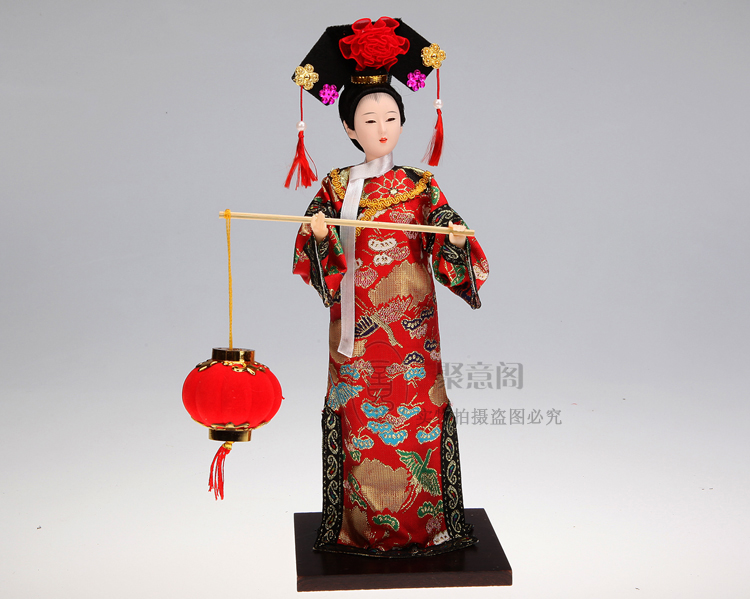 Beautiful Chinese Style Art hand made craft for home decoration 12 quot Ancient chinese Princess with beautiful clothes in Figurines amp Miniatures from Home amp Garden