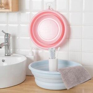 Image 1 - Składana umywalka przenośne składane wiadro składana umywalka składana umywalka podróżna/domowa mała/średnia/duża wanienka z tworzywa sztucznego