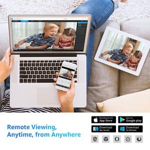 Image 4 - H.VIEW 5MP IP 카메라 와이파이 야외 2.4G 5G IP 카메라 와이파이 Onvif 풀 타임 컬러 CCTV 카메라 야외 H.265 CCTV 카메라 1080P