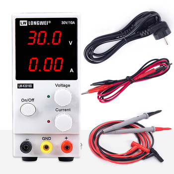 DC Power Supply Mini Adjustable Digital 30V 10A Laboratory Switching Power Supply 110v-220v K3010D Laptop Phone Repair Rework