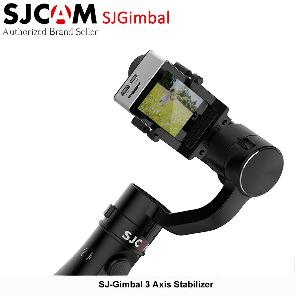 SJCAM SJGimbal Handheld Gimbal 3 Axis Stabilizer for SJ7 Star SJ6 Legend Action Camera new arrive sjcam sj7 star sj6 legend accessies 3 axis handheld gimbal for sjcam sj6 sj7 star wifi series cam