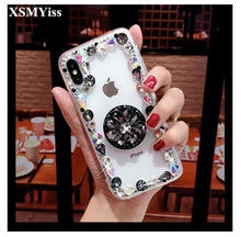 Чехол для телефона xsmyiss bling diamond samsung s7 s8 s9 s10