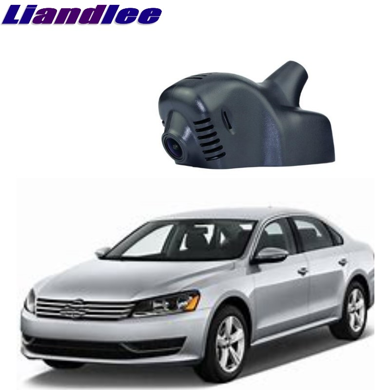 Liandlee For Volkswagen VW New Midsize Sedan Passat NMS B7 2012~2018 Car Black Box WiFi DVR Dash Camera Driving Video Recorder liandlee for volkswagen vw crafter man teg 2006 2018 car black box wifi dvr dash camera driving video recorder