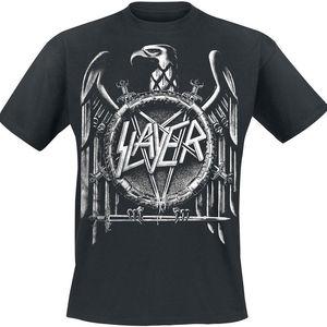 Image 1 - Slayer Eagle Quaste Aufdruck Stile T Shirt Vintage Magliette Manica Corta Divertente Top Tee Freddo T Camicette Disegni Best Degli Uomini di Vendita