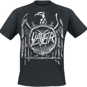 Image 1 - Slayer Eagle Quaste Aufdruck T Shirt Style Vintage Tees Short Sleeve Funny Top Tee Cool T Shirts Designs Best Selling Men
