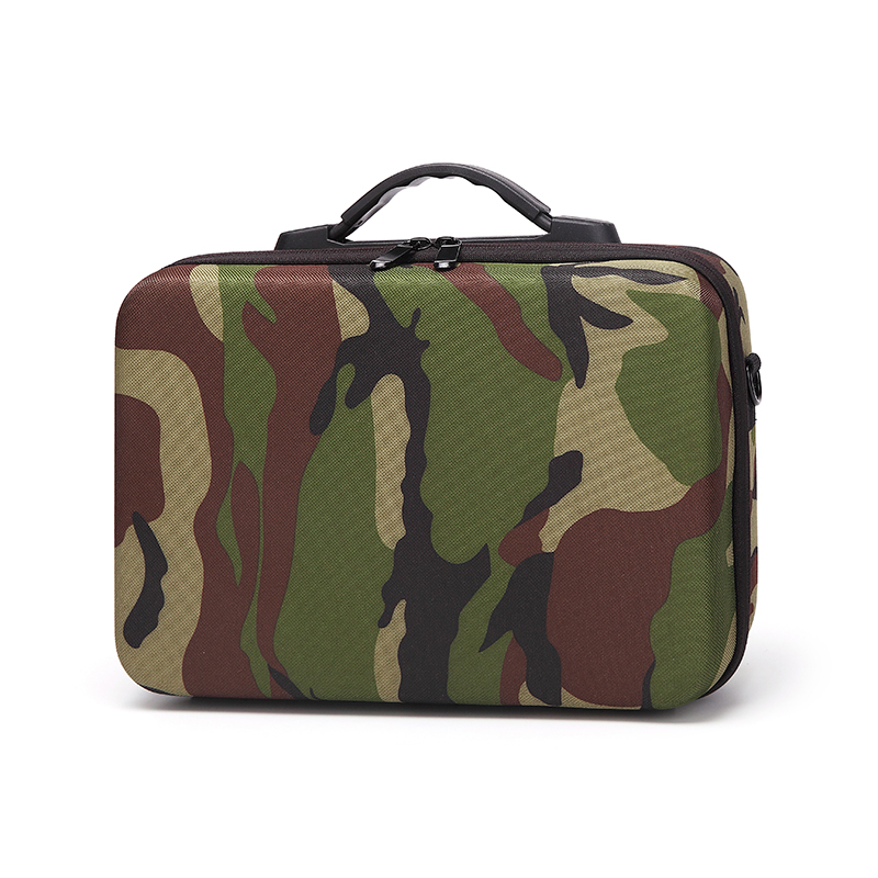 Professional Drone Bag For DJI Tello Camouflage Waterproof Handbag EVA Drop-proof Hard Drone Case Portable Drone Holders For DJI 1