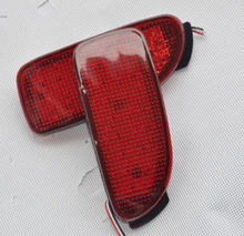 2X LED Bumper Reflector Tail Rear Brake Stop Light For Toyota Estima