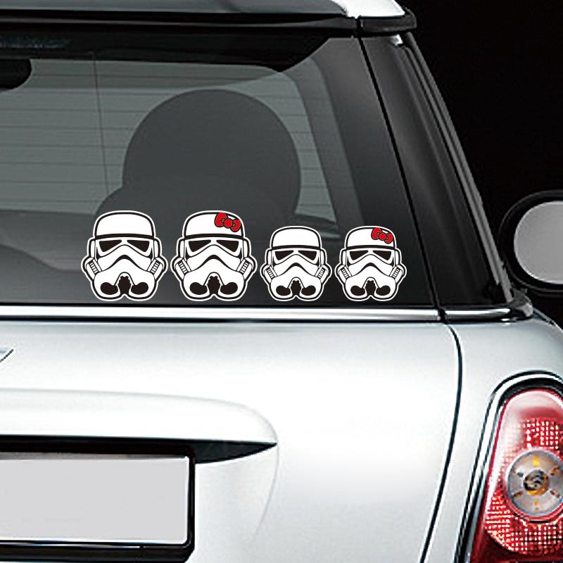 Etie car styling funny car sticker decal motorcycle cool star wars custom car window stickers online