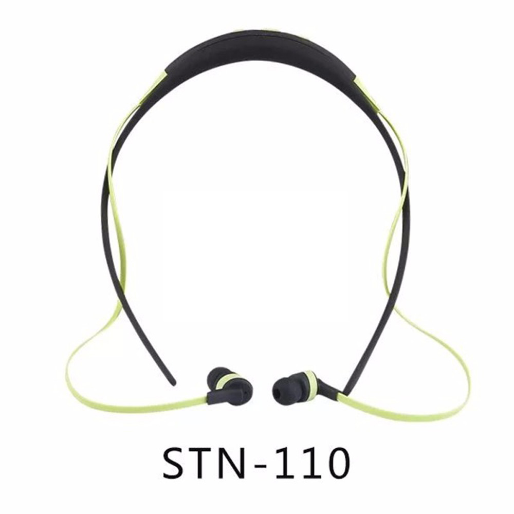 New Wireless Earbuds STN-110 Stereo Bluetooth Headphone Headset For iPhone Samsung Xiaomi HTC Outdoor Sport Earphone With MIC original r6000 wireless headphone bluetooth headset for samsung xiaomi iphone 7 car charger 2 in 1 bluetooth earphone