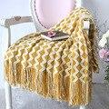 Battilo мягкое теплое Тканое вязаное одеяло с бахромой для дивана  дивана  кровати  47x79 дюймов