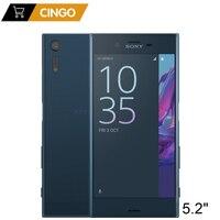 Оригинальный разблокирована sony Xperia XZ F8331 4G LTE 3 ГБ Оперативная память 32 ГБ Встроенная память GSM 4 ядра Android 5,2 ips 23MP отпечаток пальца WI FI 2900 мАч
