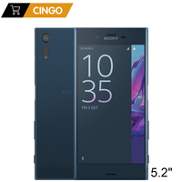 Original Unlocked Sony Xperia XZ F8331 4G LTE 3GB RAM 32GB ROM GSM Quad Core Android 5.2 IPS 23MP Fingerprint GPS WIFI 2900mAh