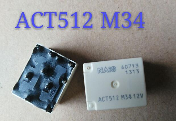 relay ACT512 M34 12V ACT512-M34-12V 12V DIP10 12v