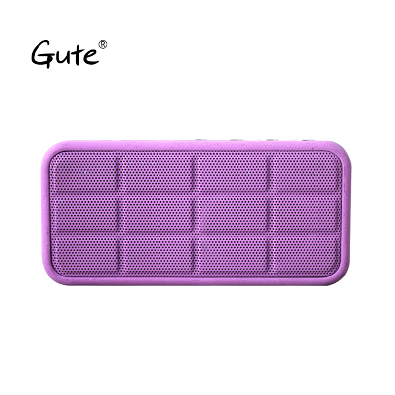 Gute fashion <font><b>bluetooth</b></font> speaker portable Crackle texture radio FM bass <font><b>radyo</b></font> aged old man caixa de som altavoz portatil pb3 tod
