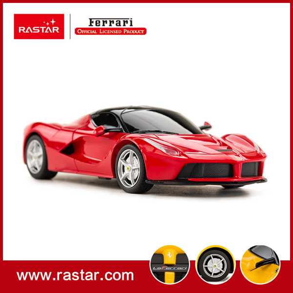 rastar licensed 124 ferrari laferrari cool cheap abs plastic intelligent electric rc car kids electric car toys for sale 48900