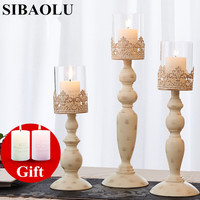 Metal Candle Holder Europe Big Metal Candle Stand Wedding Event Candelabra Candle Stick Home Decoration Candlestick