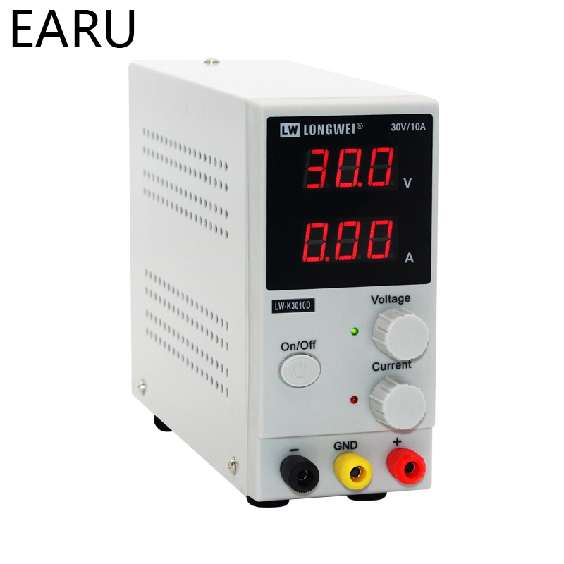 30V 10A LED Display Adjustable Switching Regulator DC Power Supply Laptop Repair Rework 110V - 220V Current Voltage Stabilizers30V 10A LED Display Adjustable Switching Regulator DC Power Supply Laptop Repair Rework 110V - 220V Current Voltage Stabilizers
