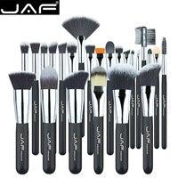 JAF 24 stücke Make-Up Pinsel Set Professionelle Synthetische bilden Pinsel Set von bürsten make-up pinsel Kit pinceis de maquiagem großhandel