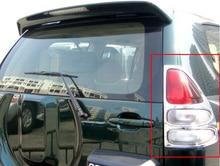 ABS Chrome для Toyota Land Cruiser Prado 120 аксессуар задний фонарь крышка Prado FJ120 2003 2004 2005 2006 2007 2008