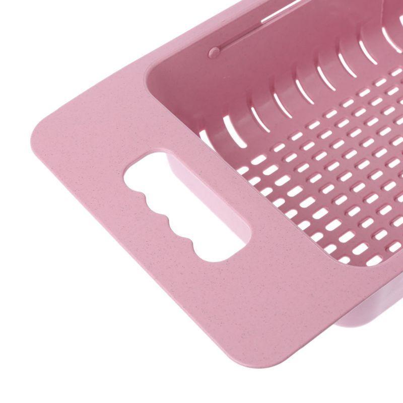 Image 5 - Kitchen Sink Dish Drainer Drying Rack Washing Holder Basket Great Organizer Kitchen Strainer Colander Tray Storage Basket New-in Racks & Holders from Home & Garden