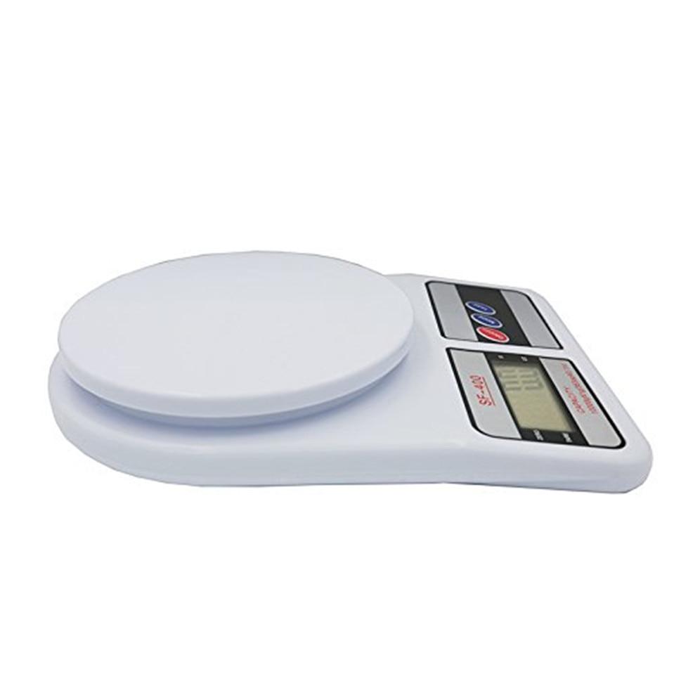 Кухонные весы, цифровые пищевые весы, высокоточные кухонные электронные весы, 10 кг x 1 г SF400-3