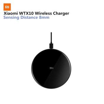 Asli Xiaomi Zmi Qi Wireless Charger WTX10 Nirkabel Charger Cepat Pengisian Cepat Charger untuk iPhone Mix 2