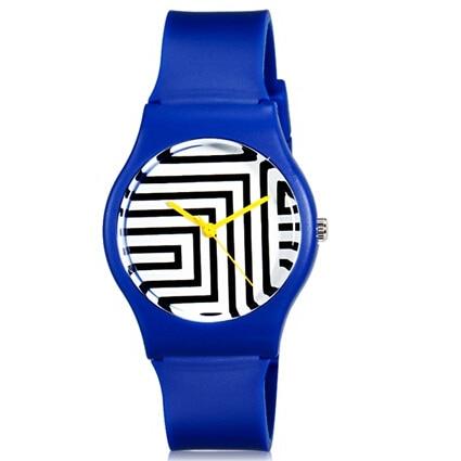 Willis för Mini Kvinnors trendiga casual klocka Zebra Pattern Analog - Damklockor - Foto 2