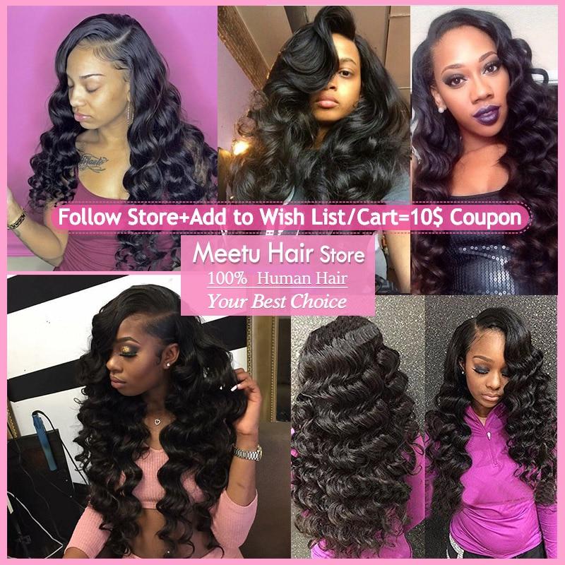 Meetu Brazilský Loose Wave Hair Svazky 100% lidské vlasy 1 ks - Krása a zdraví - Fotografie 6