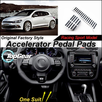 Litanglee Car Accelerator Pedal Pad / Cover of Factory Sport Racing Design For VW Volkswagen Scirocco 2008 ~present Tuning