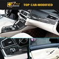 Free shipping interior trims for BMW F10 5 series carbon fiber decoration parts Auto body kit (without on-off)