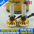 Upgraded H1 60W MZ CAR LED HEADLIGHT KIT Canbus error free Conversion Kit DRL Fog Head Light Lamp Plug & Play H3 H4 H7 H11 9005