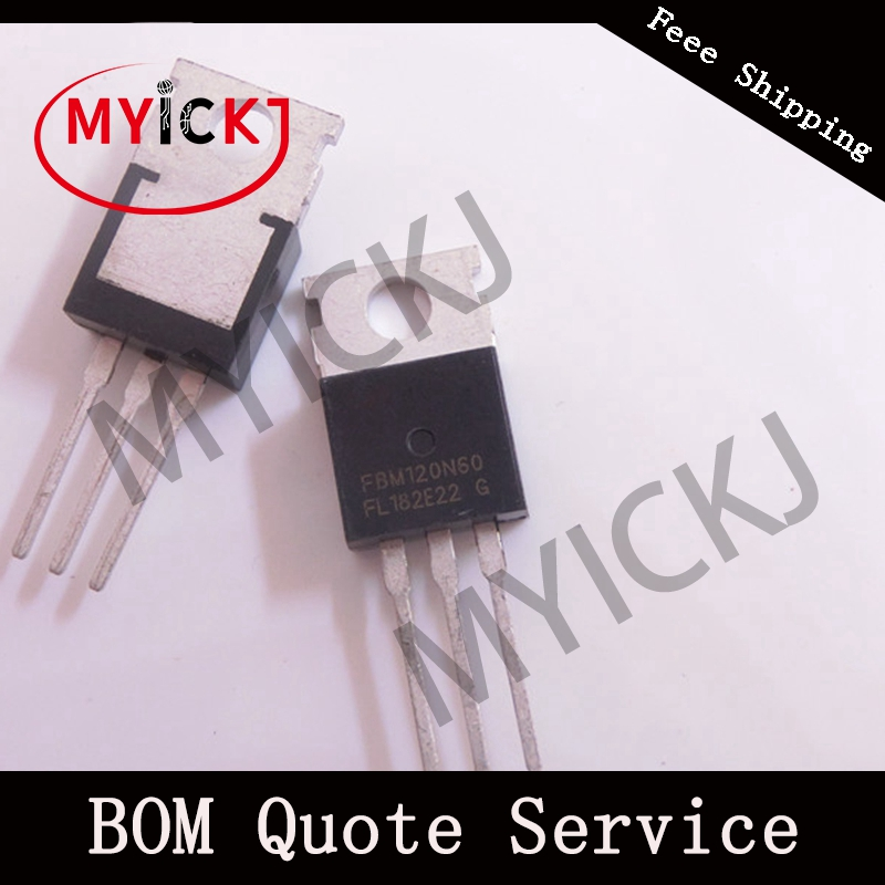 5PCS FBM120N60 IC-CHIP   TO-220