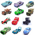 9 estilos 100% Modelos de vehículos Originales de Pixar 2 Diecast Vehículos los niños Juguetes de Coche Para Niños Mcque McQueen Cartoon coche de Carreras modelo