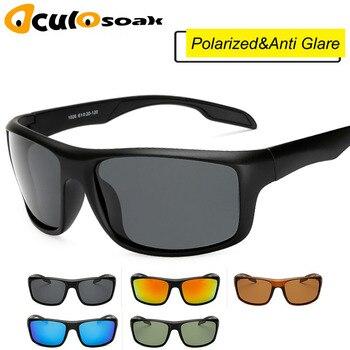 181dd141d7 Gafas de sol polarizadas clásicas para hombre Gafas de sol rectangulares  para conducir Gafas de sol