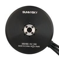 Original Sunnysky X8016S 100KV 120KV 170KV Brushless Motor for RC Multicopters Plant Protection Machine UAV