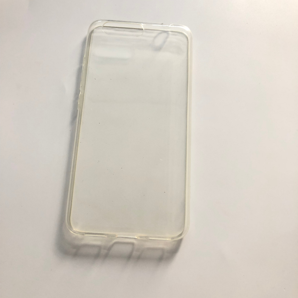 New TPU Silicon Case Clear Soft Case For UMIDIGI Z1 MTK MT6757 Octa core 2 3GHz 5 5 inch 1920x1080 Tracking Number in Half wrapped Cases from Cellphones Telecommunications