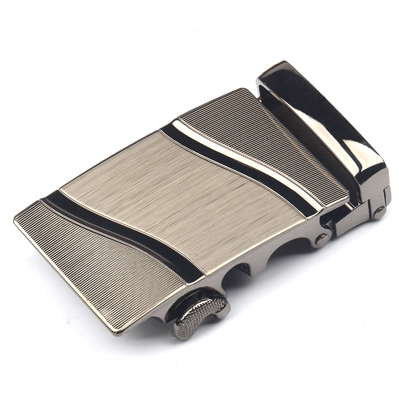 Mens Business Belt Buckle Alloy Material Application Of Genuine Leather Body Width 3.7CM High Quality Designers Fashion Brand